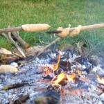 Koiserhock Stockbrot und Feuer