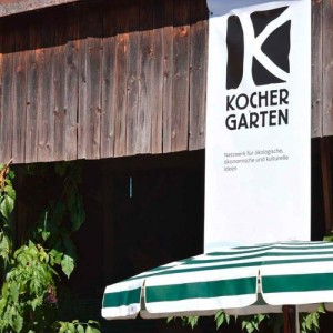 Kochergarten Banner