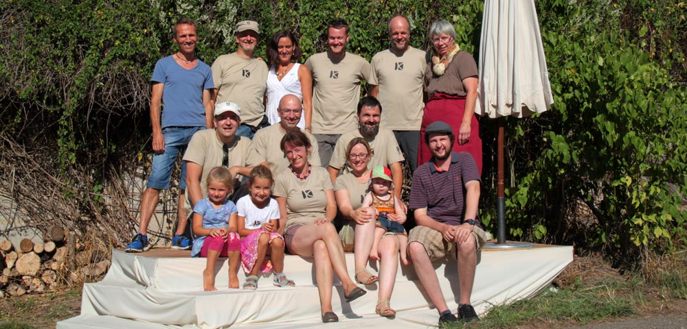 Das Kochergarten Team Flohmarkt 2015
