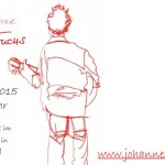 Ankündigung Johannes Fuchs live im Kochergarten
