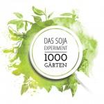 Bildzeichen der Initiative 1000 Gärten - Das Soja-Experiment